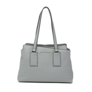 NWT Marc Jacobs Taille Storm Grey Leather Satchel